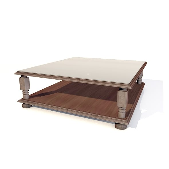 Simple 3D Table - 3DOcean Item for Sale