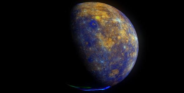 Mercury 11k - 3DOcean Item for Sale