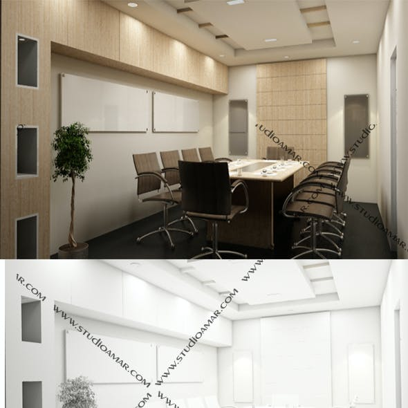 Realistic Conference Room 189