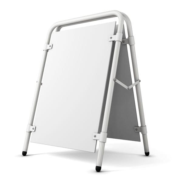 3d model Sandwich Board.