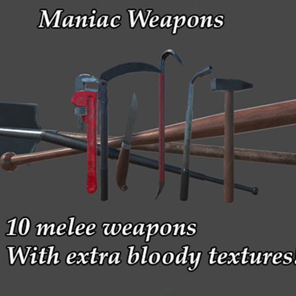 Maniac Weapons Pack(I)