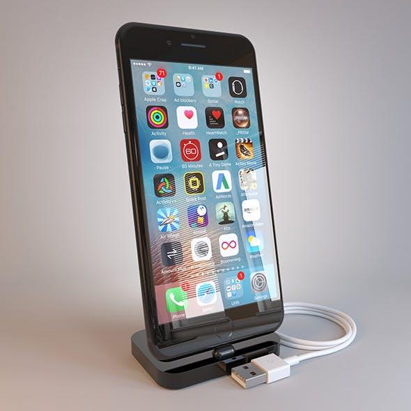 Apple iPhone 7 Plus on Dock by obshansky | 3DOcean