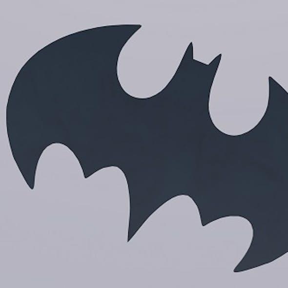 Batman 3D Logo