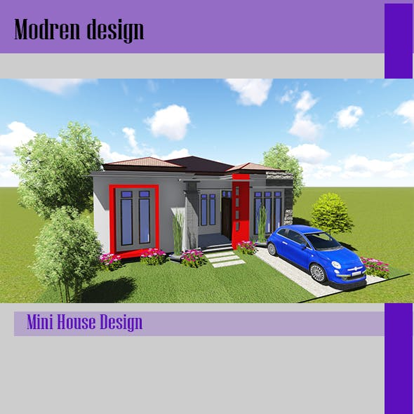 Tropis House Design - 3DOcean Item for Sale