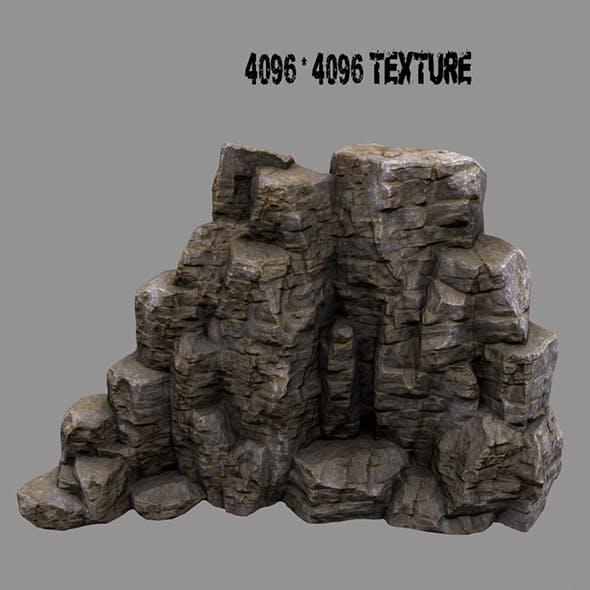 rock mount 2 - 3DOcean Item for Sale