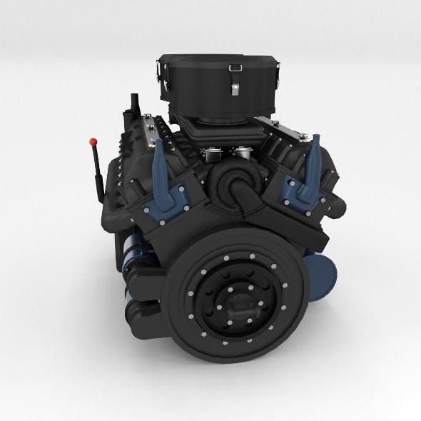 Maybach HL230 Engine Panzer Tiger Unit - 3DOcean Item for Sale