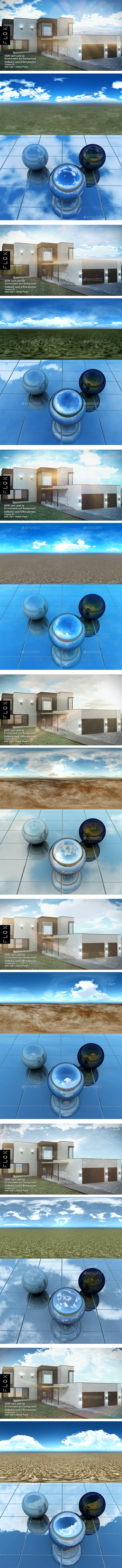 HDRI Pack - Desert vol16 - 3DOcean Item for Sale