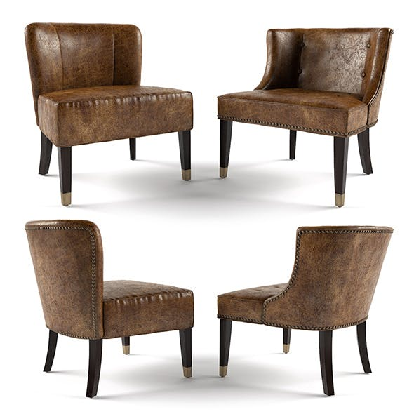 Loft Armchairs - 3DOcean Item for Sale