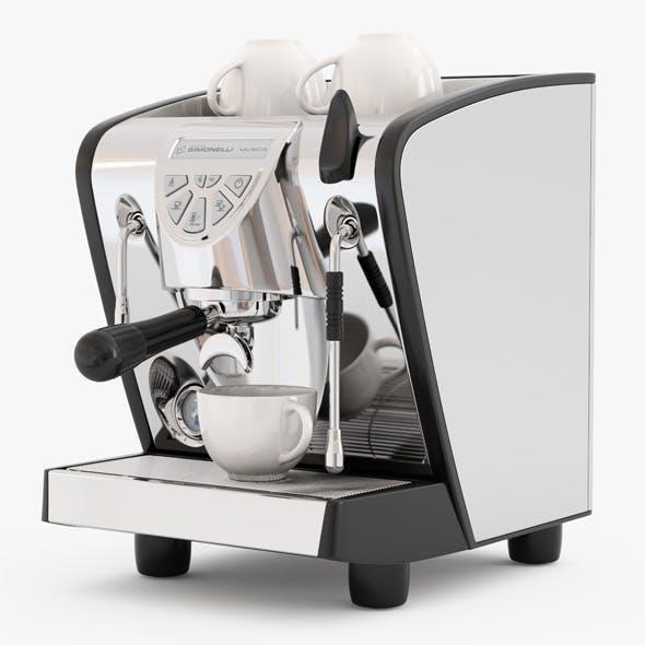 Espresso Machine Simonelli Musica - 3DOcean Item for Sale