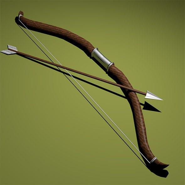 Bow with arrow - 3DOcean Item for Sale