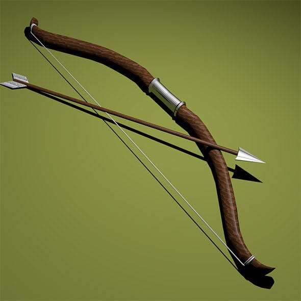 Bow with arrow