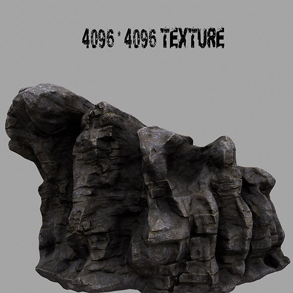 Rock.4 - 3DOcean Item for Sale