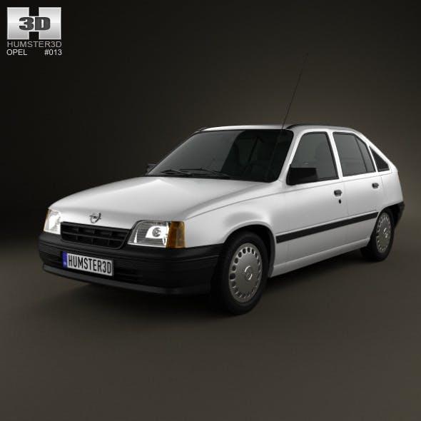 Opel Kadett E Hatchback 5-door 1984-1991 - 3DOcean Item for Sale