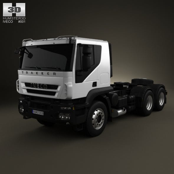 Iveco Trakker Tractor 3-axis 2012 - 3DOcean Item for Sale