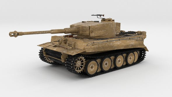 Panzer Tiger Tank Early by dragosburian | 3DOcean