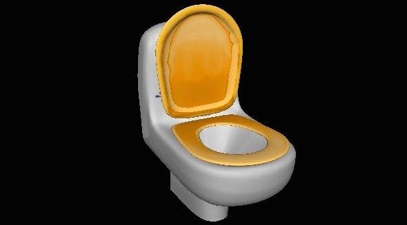 Toilet - 3DOcean Item for Sale