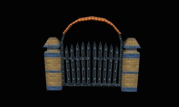 Gate - 3DOcean Item for Sale