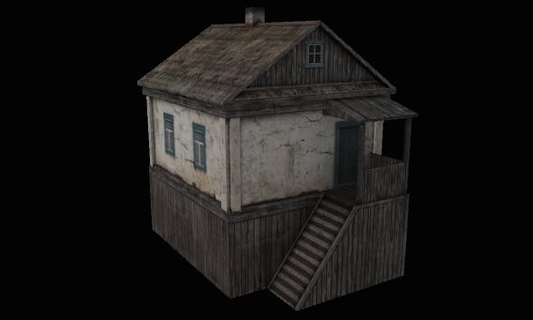 House 10 - 3DOcean Item for Sale