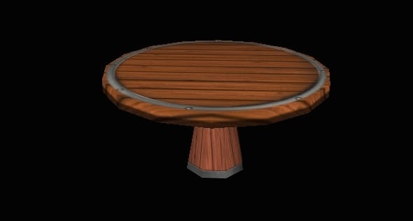 Table 2 - 3DOcean Item for Sale