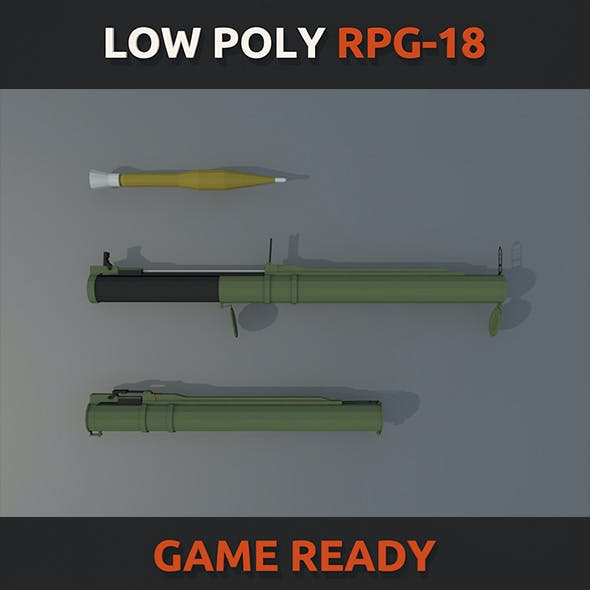 Low Poly RPG-18