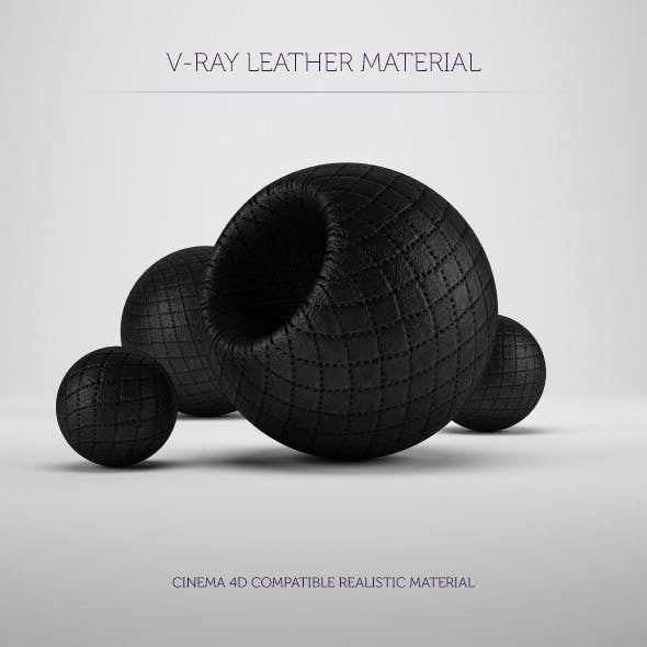 C4D V-Ray Leather Material
