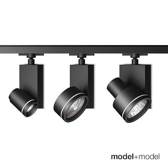 Artemide Architectural Picto track spotlights - 3DOcean Item for Sale