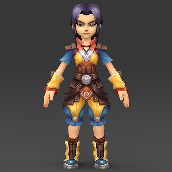 Cartoon Character Puli - 3DOcean Item for Sale