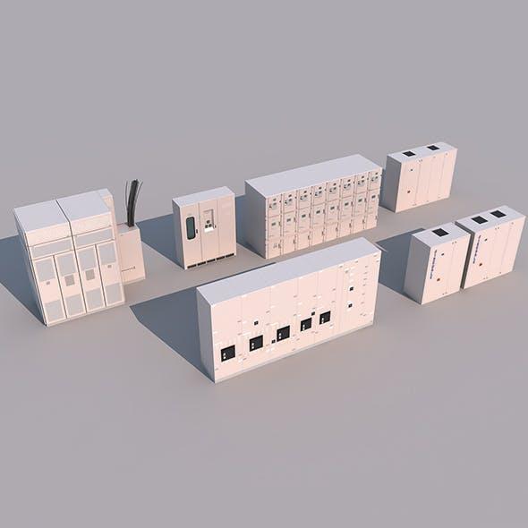 Equipment cabinet - 3DOcean Item for Sale