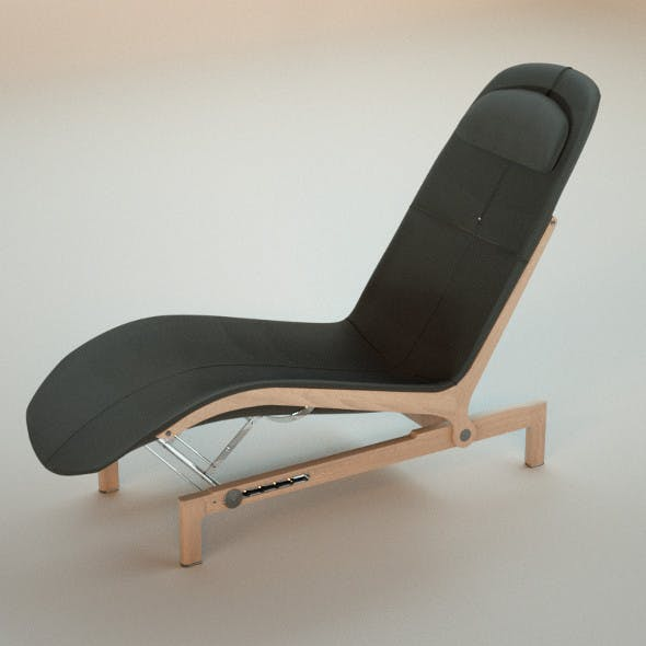 Giorgetti Chaise Longue ELA - 3DOcean Item for Sale