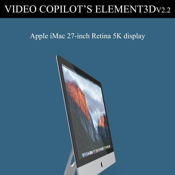 Element3D - iMac Retina 5K 2015