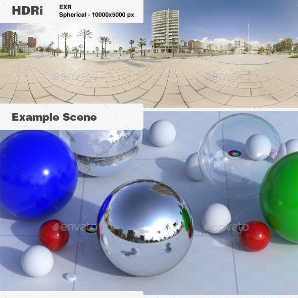 HDRi 005 - Exterior - Beach + Backplates