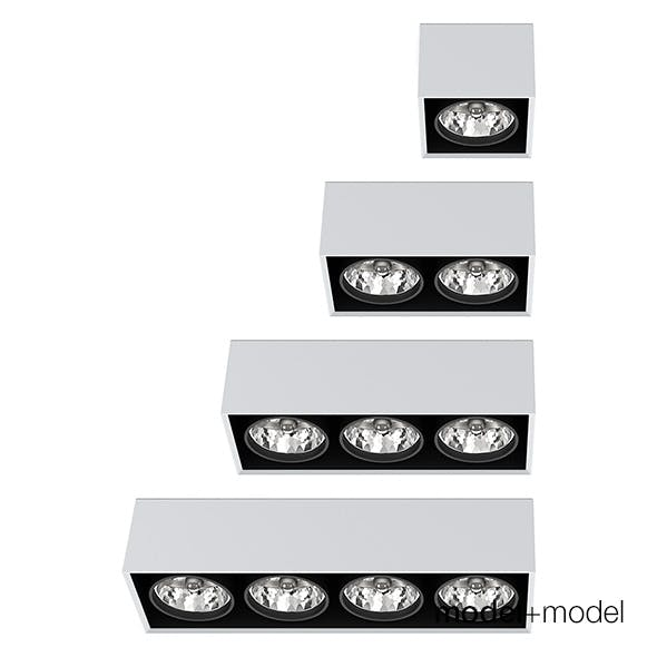 Artemide Architectural Nothing ceiling spotlights collection