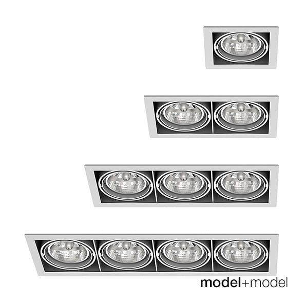 Delta Light Grid In spotlights collection