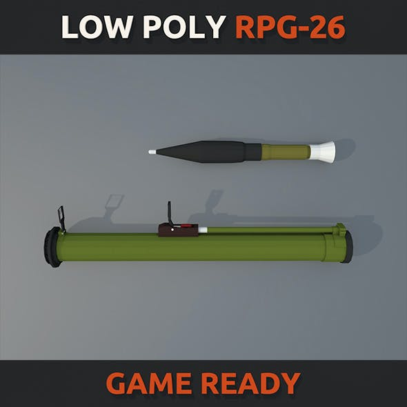 Low Poly RPG-26