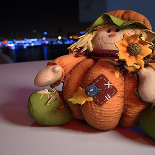 Pumpkin Plushie