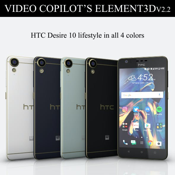 Element3D - HTC Desire 10 lifestyle