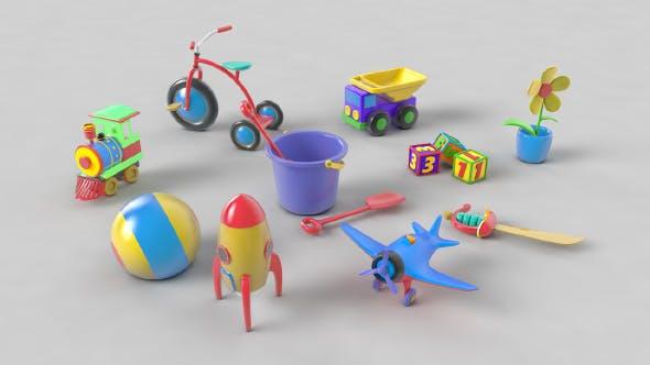 Ultimate Toys Pack v1 - 3DOcean Item for Sale