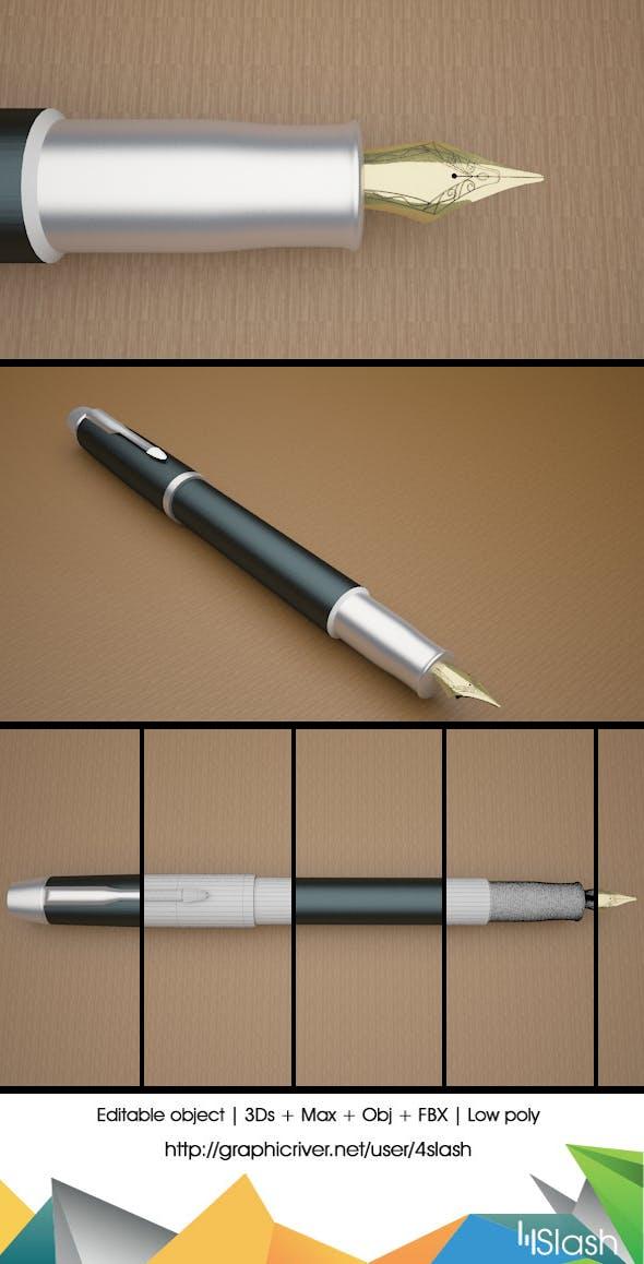 3d Pen Nib - 3DOcean Item for Sale