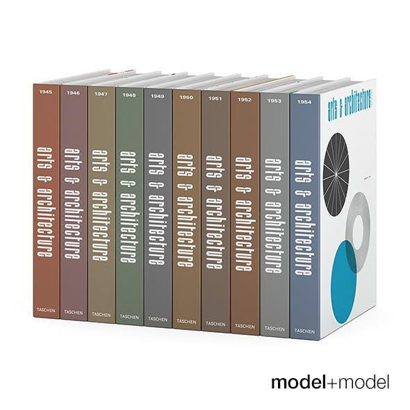 Art&Architecture books series - 3DOcean Item for Sale