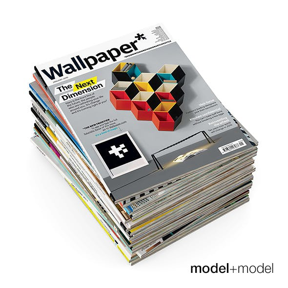 Magazines - 3DOcean Item for Sale
