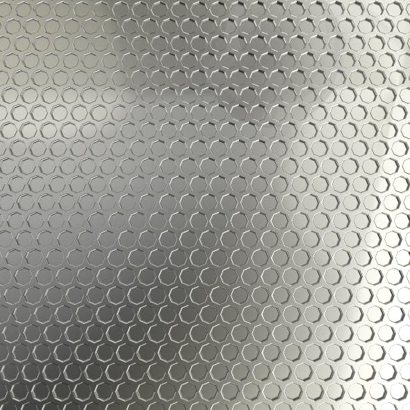 Honeycombe Plate 3D Model