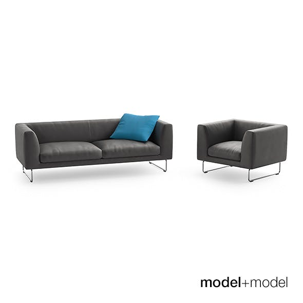 Cappellini Elan sofas and armchair