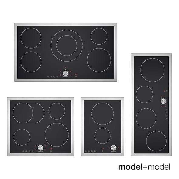 Gaggenau ceramic cooktops - 3DOcean Item for Sale