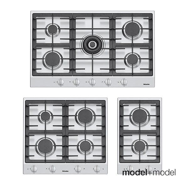 Miele gas cooktops - 3DOcean Item for Sale