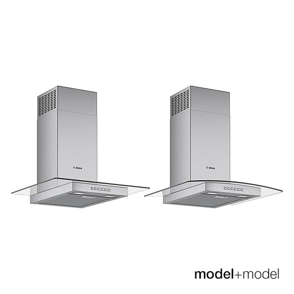 Bosch glass hoods