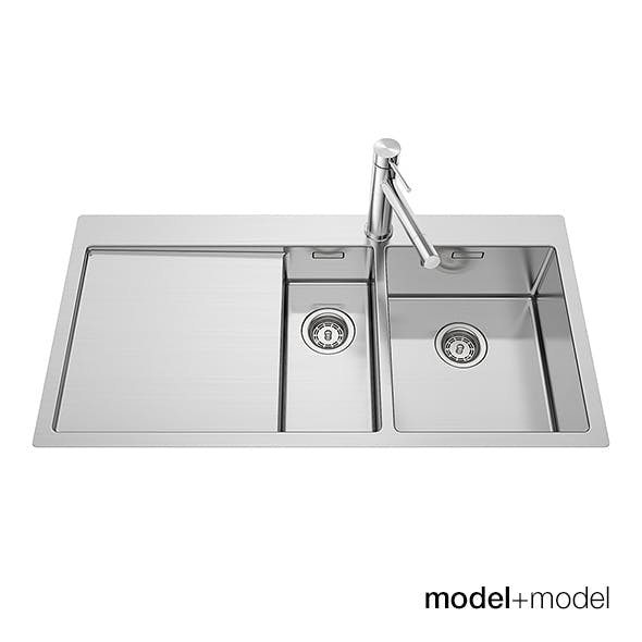 Blanco Claron kitchen sinks - 3DOcean Item for Sale