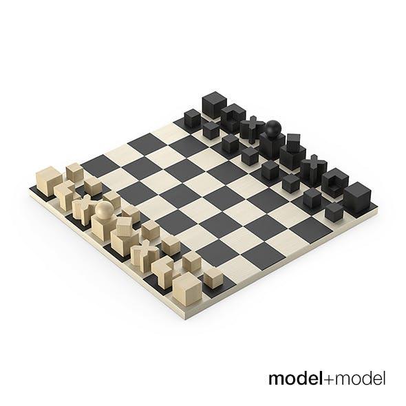 Bauhaus Chess set