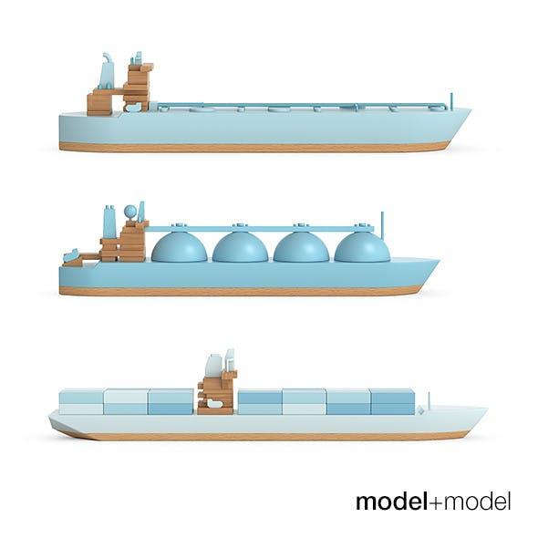 Papafoxtrot Ships - 3DOcean Item for Sale