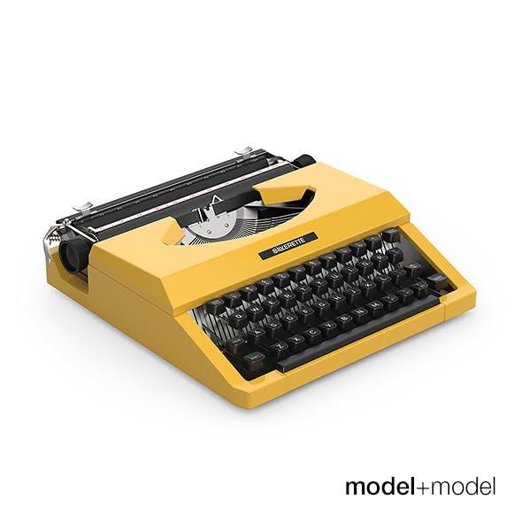 Silver Reed typewriter