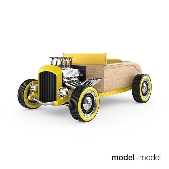 Automoblox Hot Rod toy car